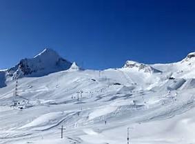 Austria ski slope